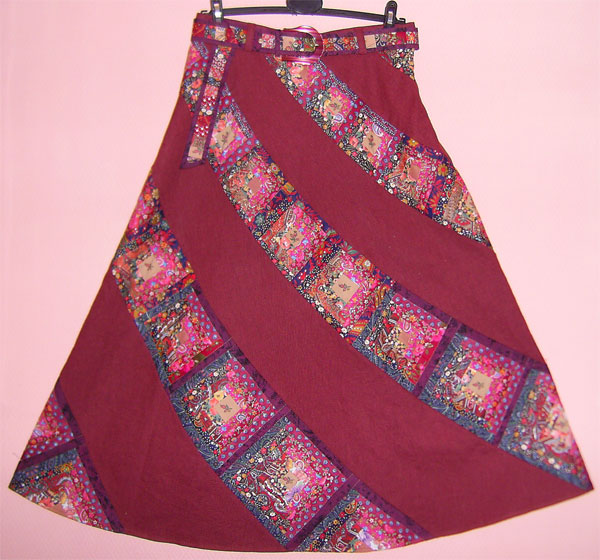 Пэчворк лоскутные юбки